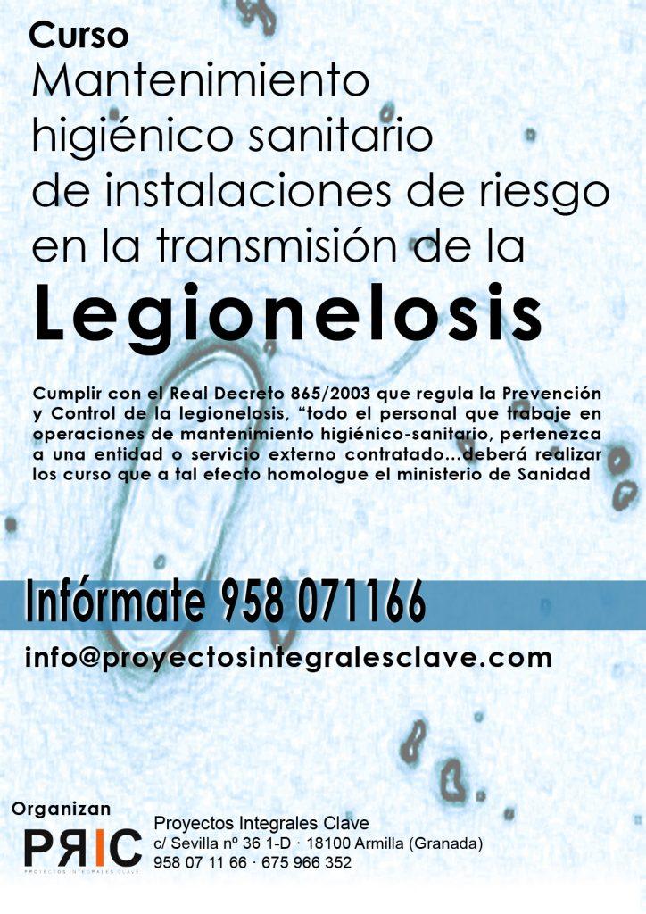Curso para la prevención y control de la Legionella